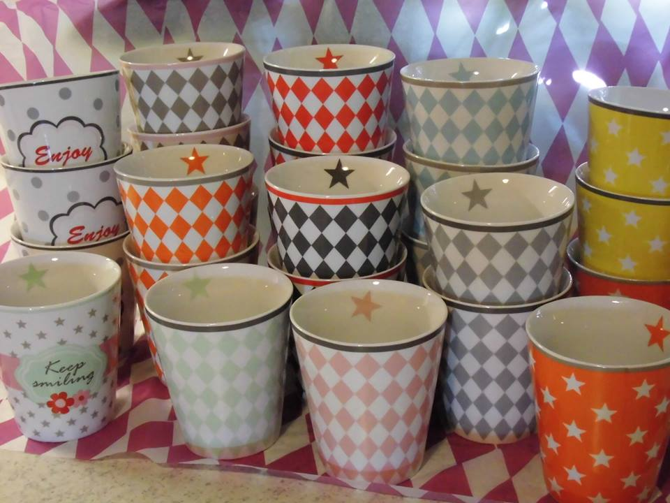 Krasilnikoff Happy Mugs & Stars