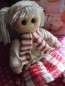 Powell Craft  Stoffpuppe WINTERGIRL Rag Doll Puppe