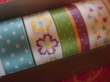 Masking Tape Set Blüte Band