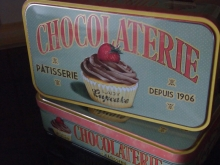 ♥ CHOCOLATERIE Vorratsdose LADY CUPCAKE