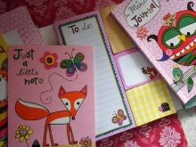 Rachel Ellen Designs Schreib-set Woodland Stationery Block
