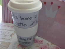 Mea Living Coffee to go A MAN`S HOME, until Queen