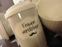 Mea Living COFFEE TO GO Frauenversteher