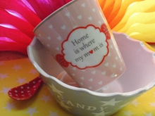 "♥ 300ml HAPPY MUG Becher ""..my m♥m.."""