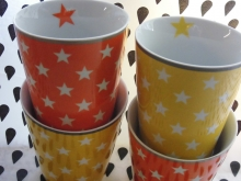 ♥ 300ml HAPPY MUG Becher Stars