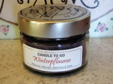 Candle Factory Candle_to_go Kerze Winterpflaume Duftkerze