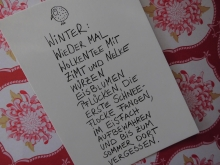♥ POSTKARTE Winter ♥ eDITION GUTE GEISTER