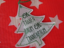Good old Friends Konfetti Baum - Oh Tannenbaum