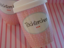 ♥ COFFEE TO GO - Becher Töchterchen Mea-Living