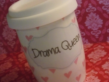 ♥ COFFEE TO GO - Becher Drama Queen Mea-Living