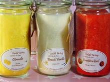 Candle Factory Kerze Mini Jumbo French Vanilla