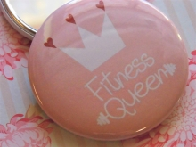 Mea Living Taschenspiegel Fitness Queen