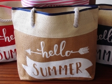 Strandtasche Hello Summer Beachbag