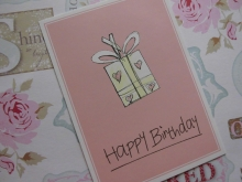 Mea Living Postkarte Happy Birthday Geschenk