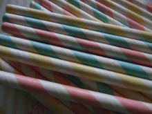 Paper Straws Candy Stripes Mix 50 Papierstrohhalme