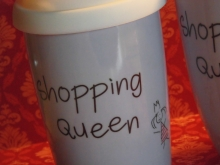 ♥ COFFEE TO GO - Becher Shopping Queen