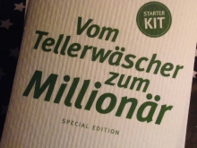 House of Emotions Spüllappen STARTER KIT MILLIONÄR