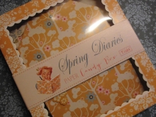 ♥ 48 TILDA PAPER TAGS & STICKERS Spring Diaries